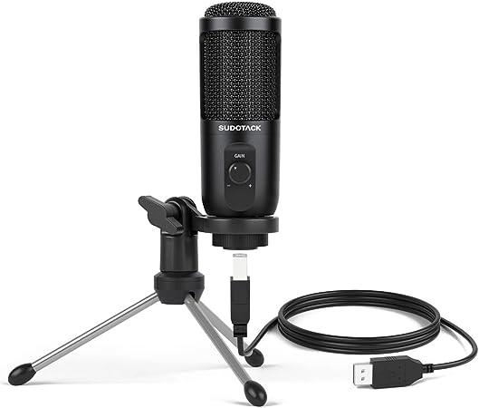 Sudotack Usb Podcast Pc Mikrofon Computer Zubehör