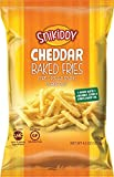 Snikiddy Cheddar Cheese Baked Fries 4.5 oz. Bag (4 Bags)