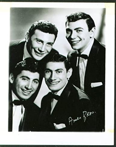 Pop Singing Group The Ames Brothers Fan Club P O 50s