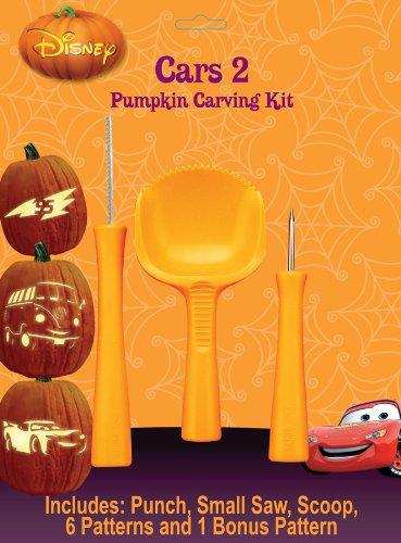 Paper Magic Group Disney/Pixars Cars 2 Pumpkin Carving Kit, Pack of 24