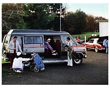 1980 Chevrolet Gerring Conversion Van Motorhome RV Factory Photo