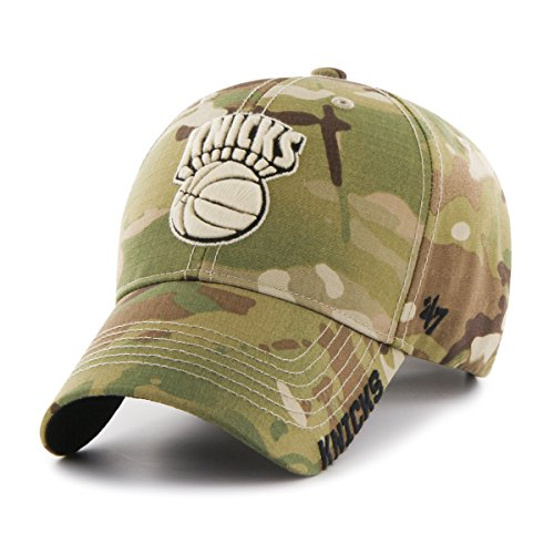 NBA New York Knicks Myers MVP Hat, One Size, Multicam ()