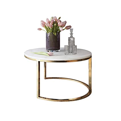 Nordic Marble Coffee Table Simple Modern Living Room Round Simple
