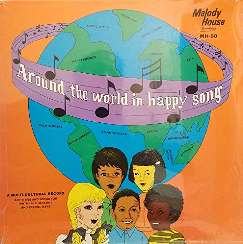 Original Multi Activity - Around the World in Happy Song - A Multi-Cultural Record