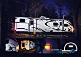 Turn on your Camper Lights RV lights with LITESWICH 2.0 camping accessories