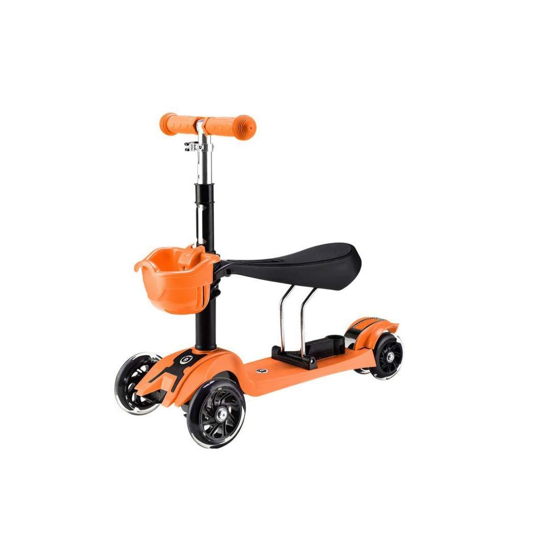 【35%OFF】 TLMYDD Orange 1人の幼児の子供のスクーター3人がベビースクーターの子供ウォーカー3または4ラウンドフラッシュスクーター61 x Orange Green) 24 x 74 cmに座ることができます 子供スクーター (色 : Green) B07NMPCHJN Orange Orange, どるちぇ ど さんちょ 札幌:8ef28220 --- a0267596.xsph.ru