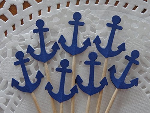 Anchor-Cupcake-Toppers-Navy-Blue-Anchor-Toppers-Party-Picks-Food-Picks-Set-of-24