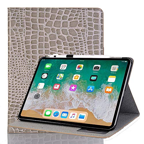 INorton Pro 11 Case with Card Slot, Stand Protective Cover Premium PU Leather,Lightweight Slim Shockproof Sleeve Compatible with iPad Pro 11 by INorton (Image #8)