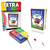 Magic Makers Tetra Deck, 4 Way Fanning Deck, Bicycle