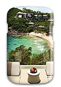 Christmas Gifts premium Phone Case For Galaxy S3/ Thailand Holiday Koh Samui Luxury Hotel Tpu Case Cover
