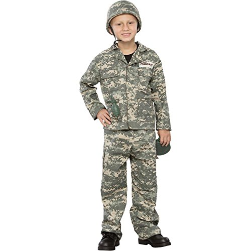 [Seasons Boys Army Man Halloween Costume] (Army Men Halloween Costumes)