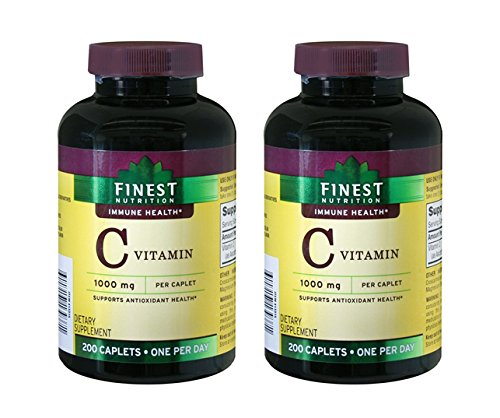 UPC 311917181448, Vitamin C 1000 mg Caplets Twin Pack 2-Pack - Finest Nutrition
