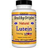 Healthy Origins, Lutein, Natural, 20 mg, 180 Veggie Softgels - 3PC
