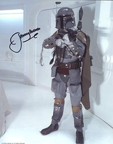 Jeremy Bulloch as Boba Fett (Star Wars) Autograph