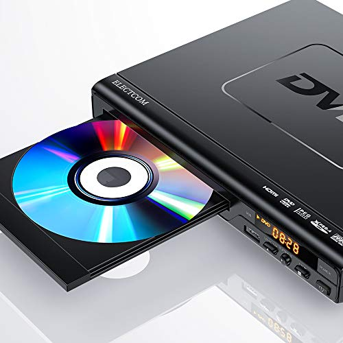 Buy Discount ELECTCOM DVD Player, DVD Player for TV HDMI with Remote, Region Free DVD Player USB