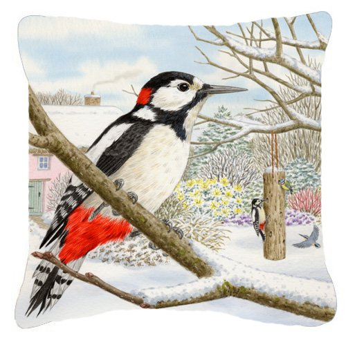 Caroline's Treasures ASAD0701PW1818 Spotted Woodpecker by...