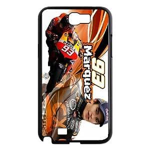 Samsung Galaxy Note 2 N7100 Phone Case Marc Marquez F5U7079