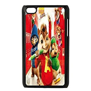 ipod touch 4 phone cases Black Alvin and the Chipmunks cell phone cases Beautiful gifts YWTS0420708