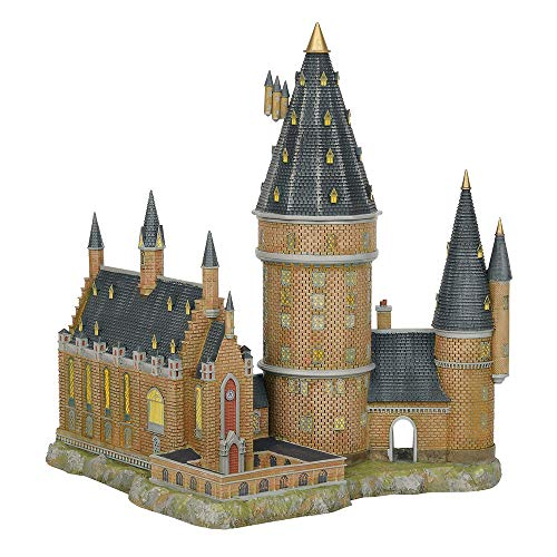 Department56 Harry Potter Village Hogwarts Hall and Tower Lit Building, 13.07