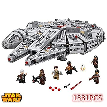 Star Wars Millennium Falcon Building Bricks 1381 Pcs With Mini-Figures 75105