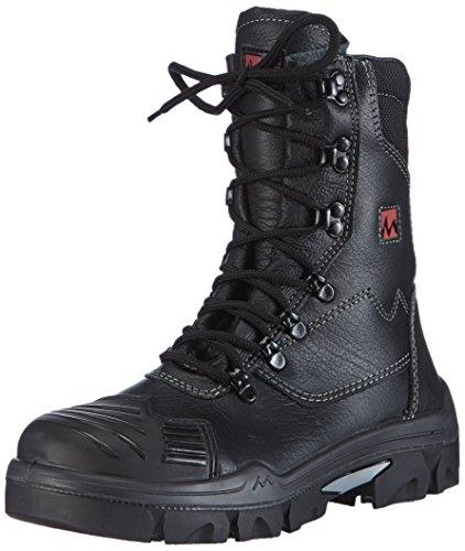 MTS Sicherheitsschuhe M-Gecko Taurus S3 Flex ÜK HI/CI 16111 - Calzado de protección de piel para mujer negro negro negro - negro
