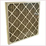 TheSafetyHouse Charcoal Pleated Filters 12/case (24 x 24 X 2)