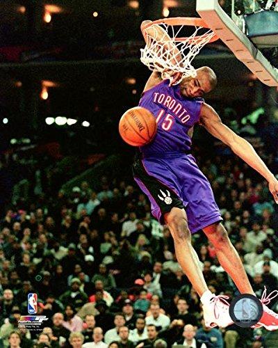 Vince Carter Toronto Raptors NBA Slam Dunk Action Photo (Size: 11