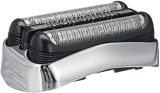 Braun 32B 32S 21B - Cuchilla de afeitar negra para afeitadora (compatible con las cuchillas de afeitar Series 3, cuchilla de afeitar de partes, la cabeza de afeitar ...