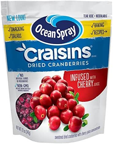 Dried Fruit & Raisins: Ocean Spray Craisins Infused