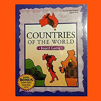 Amazoncom Countries Of The World BOARD GAME Toys Games - Countries of the world game