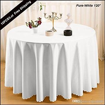 1a6142d7fc 結婚式ラウンド Squard テーブルの結婚パーティのテーブル布カバーの 10 PC /