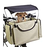Traveler 2-in-1 Pet Bike Basket and Over the Shoulder Carrier