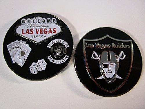 Welcome to Fabulous Las Vegas Raider Nation Las Vegas Raiders 3D Challenge Coin - Vegas Coin