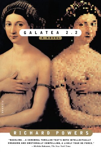 Book cover from Galatea 2.2 by Richard Powers