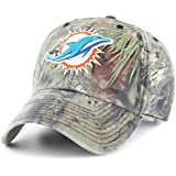 OTS NFL Miami Dolphins Men's Challenger Adjustable Hat, Mossy Oak, One Size