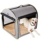 """Petsfit 30'' x24""""x25(LxWxH) Inches Medium Soft Portable Dog Crate/Cat Crate/Foldable Pet Kennel/Indoor Outdoor Pet Home For Medium Dogs"""