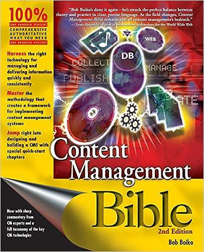 Amazon com: Content Management Bible (2nd Edition