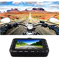Glorrt Motorcycle HD 720P DVR Vehicle Camera Video Recorder Dash Cam Night Vision