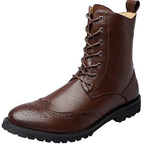 Scarpe Scarpe Brown Autunno Casual E Shoes Da Tooling Scarpe Uomo Martin Primavera Zwqx7PRgrZ