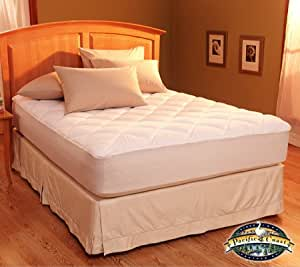 Amazon Com Restful Nights Egyptian Cotton Mattress Pad