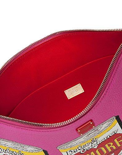 BB6492AS924HEQ01 Pochette Gabbana Fuchsia E Femme Cuir Dolce qUYB7tZ1