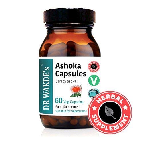 DR WAKDE'S Ashoka Capsules (Saraca asoka) I 100% Herbal I 60 Veggie Capsules I Ayurvedic Supplement I FREE SHIPPING on multiples I Quantity Discounts I Same Day Dispatch
