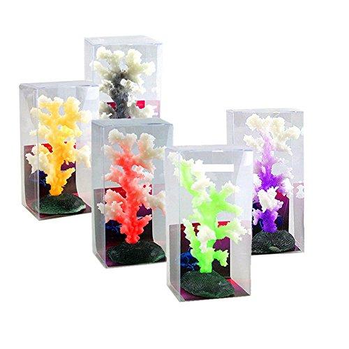(Coral Ornaments For Aquariums Fish Tank - Aquarium Decoration Artificial Coral for fish Tank Resin Ornaments)