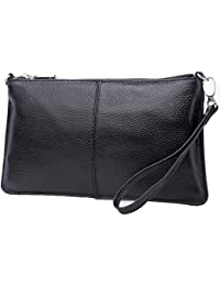 VIDA Leather Statement Clutch - Amazon by VIDA