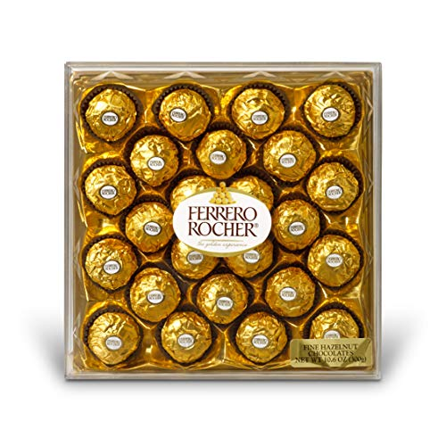 Ferrero Rocher Fine Hazelnut Chocolates, 24 Count, for sale  Delivered anywhere in USA