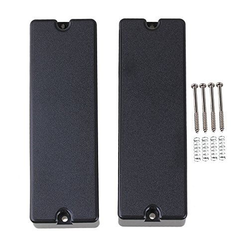 lovermusic 1 Set of 2 6-string Soap Bar Pickups For Bass Guitar