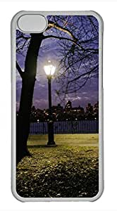 Brian114 iPhone 5C Case - City New York 11 Hard Clear iPhone 5C Cover, iPhone 5C Cases, Cute iPhone 5c Case