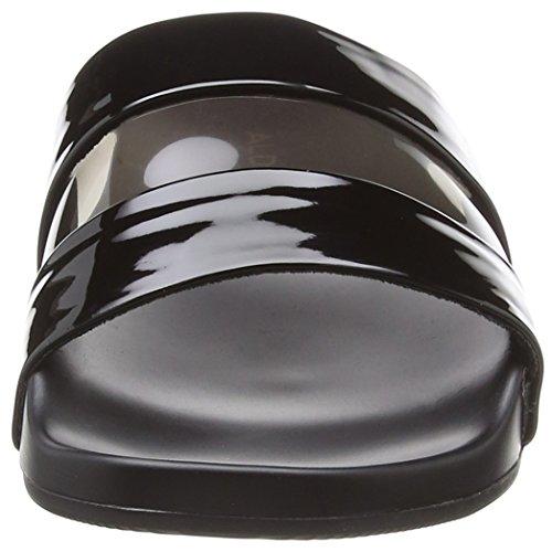 Aldo Women''s Open Jet 96 Black Back Charenna Black Slippers x1AqxazS