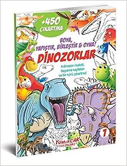 Dinozorlar 1 Boya Yapistir Birlestir Oyna Collective