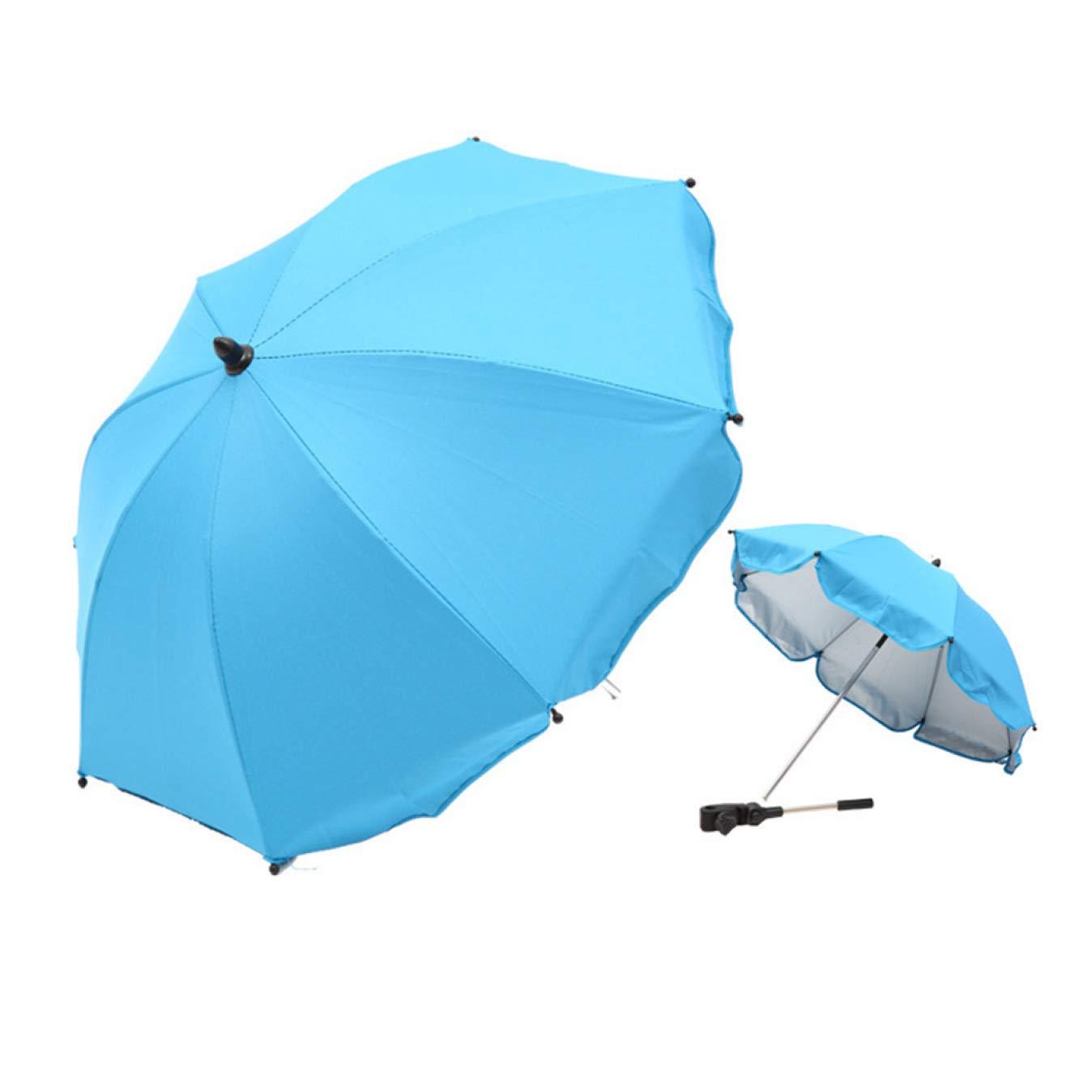 dyudyrujdtry ungew/öhnlicher Baby-Kinderwagen biegbarer Regenschirm f/ür Kinderwagen